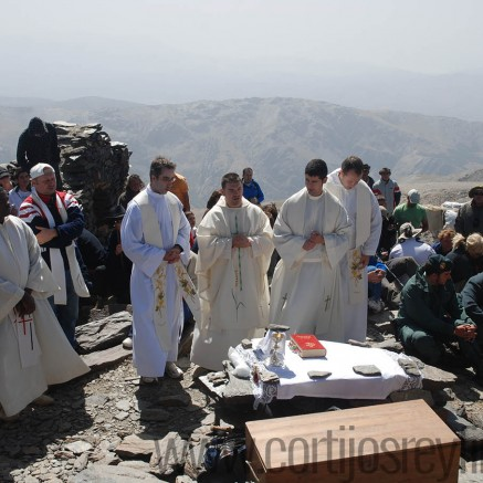Ceremony on the peaks Mulhacen