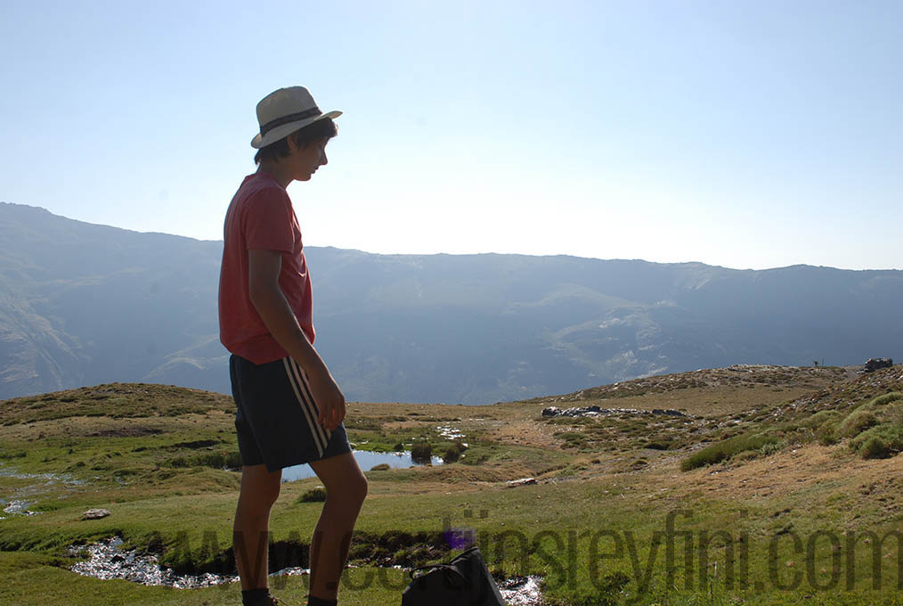 Walking in Sierra Nevada