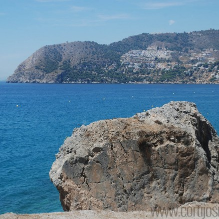 Across the bay in La Herradura