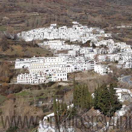 Winter view of Trevelez